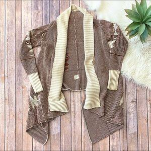 BB DAKOTA Aztec Print Sweater